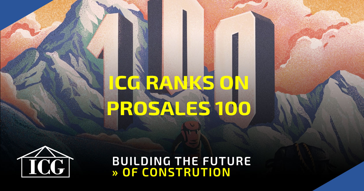 ICG Listed on ProSales 100