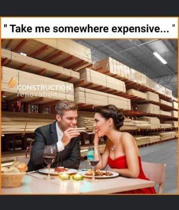 Take me somewhere expensive